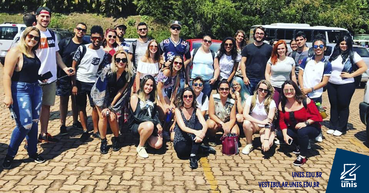 Alunos do Grupo Unis visitam o Instituto Inhotim